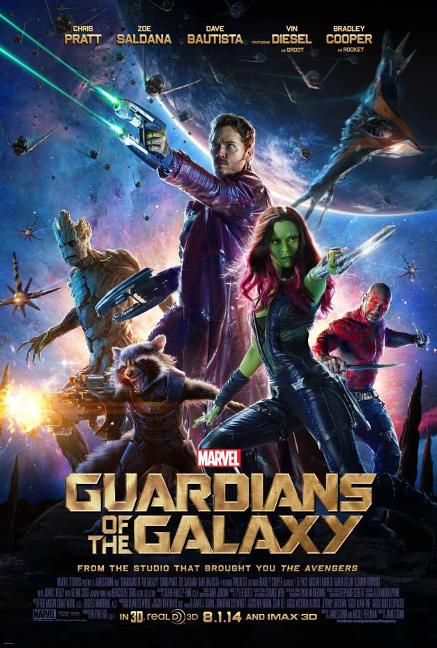 Brand New 'Guardians of the Galaxy' Poster, Screens & News!