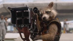 Rocket and his BFG (Big Friggin Gun)