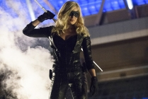 Caity Lotz as Sara Lance/Black Canary
