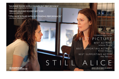 Julianne Moore in 'Still Alice' For Best Actress in a Leading Role