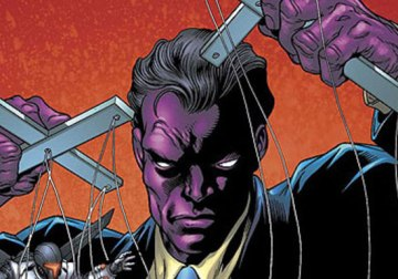 The Purple Man from the pages of Marvel Comics