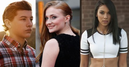 Tye Sheridan, Sohpie Turner and Alxandra Shipp will be suiting up as Cyclops, Jean Grey and Storm in the upcoming 'X-Men: Apocalypse'