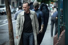 Birdman; Riggan's own personal shoulder-devil