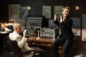 Dottie (Bridget Regan) and Faustus (Ralph Brown).