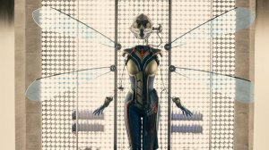The Wasp prototype as seen at the end of 'Ant-Man'.